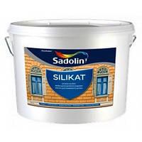 Краска Sadolin SILIKAT - силикатная краска, белый, 10 л.