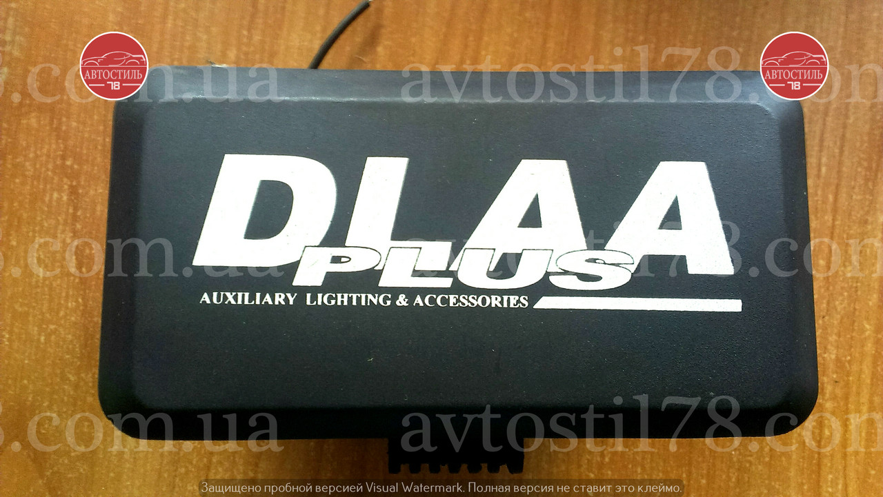 Фары DLAA 1005 RY/H3-12V-55W/160*83mm/ крышка