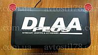 Фары DLAA 1005 RY/H3-12V-55W/160*83mm/ крышка, фото 1