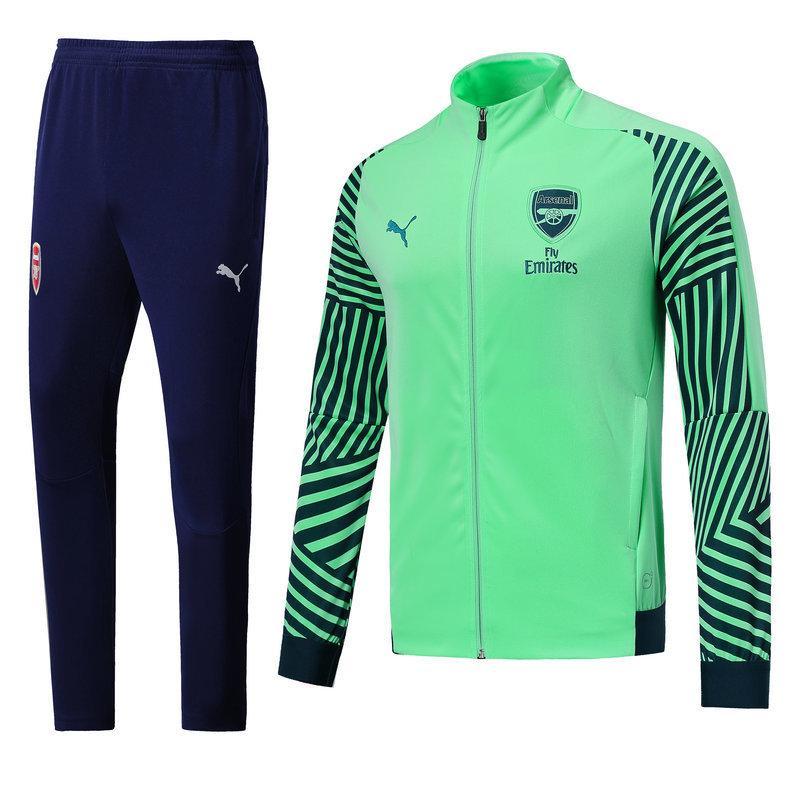 Тренировочный костюм FC Arsenal Puma 2018 бирюзовый