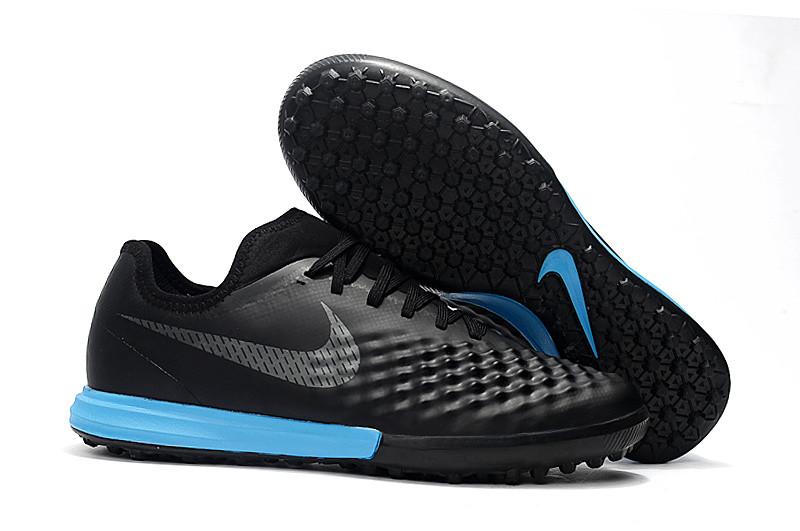 Бутсы сороконожки Nike MagistaX Finale II TF Black/blue, фото 1