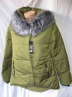 Пуховики женские зимние оптом (42-50) купить от склада 7 км Одесса
