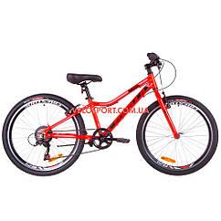 Подростковый велосипед Formula ACID 1.0 rigid 24 дюйма красно-черный