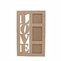 Рамка Love 1 30,5*49см МДФ