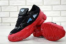 Кроссовки мужские красные Adidas Raf Simons Ozweego 3 (реплика), фото 3