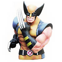 Копилка-Бюст 3D Росомаха Wolverine 17 см  BL37