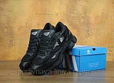 Кроссовки мужские черные Adidas Raf Simons (реплика), фото 2