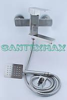 Смеситель для ванны и душа Gerts 7105 из нержавеющей стали, фото 1