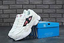 Кроссовки мужские белые Adidas Raf Simons Ozweego 2 (реплика), фото 3