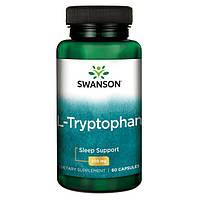 Л-Триптофан / L-Tryptophan, 500 мг 60 капсул