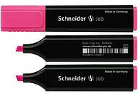 Маркер текстовый Schneider JOB розовый S1509