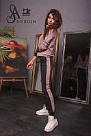 Спортивный женский костюм ткань ангора софт розовый, фото 1