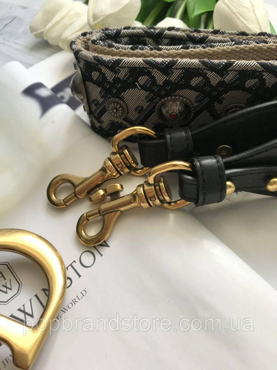 1ce01f9453e3 Стильнаяженская сумочка Dior SADDLE BAG (реплика), цена 3 700 грн., купить  в Киеве — Prom.ua (ID#782211094)