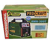 Сварочный инвертор Procraft AWH-300T, фото 5
