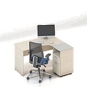 Комплект мебели для персонала серии Сенс композиция №1 ТМ MConcept