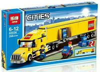 Конструктор Lepin Cities 02036 Грузовик трейлер, фото 1
