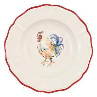 Набор тарелок для супа Villa Grazia Premium Петушки 23 см, 6 шт 429-23GA-set
