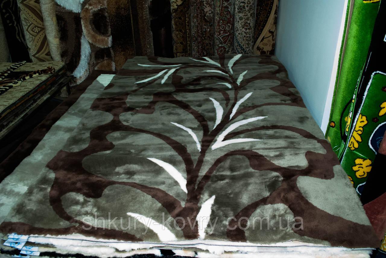 Модні сучасні натуральні килими з хутра, ексклюзивні подарунки, купити килим у Черкасах та Сумах