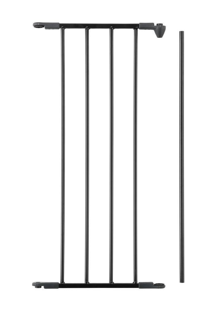 Дополнительная панель шириной 33 см для ограждений Baby Dan FLEX M, L, XL - цвет черный