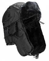 Шапка ушанка черная  (MiL-Tec) Германия