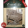 """Комплект двоспального постільної білизни Чорні лебеді """"CASA DE LUX"""" 100% БАВОВНА 180*220"""