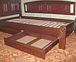 """Кровать для гостиниц """"Масу"""". Массив - сосна, ольха, береза, дуб., фото 5"""