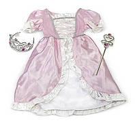 """Детский карнавальный костюм """"Принцесса"""" для девочек от 3 до 6 лет ТМ Melissa & Doug MD4785"""