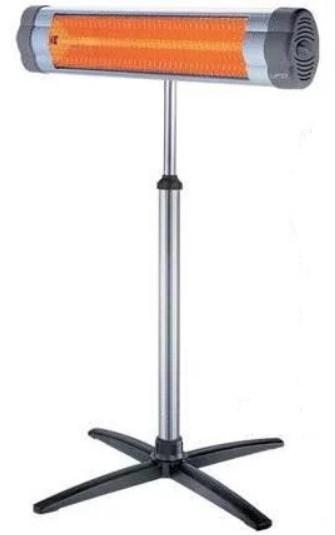 Инфракрасный обогреватель Silver Crown HQ-1209 + ножка телескопическая