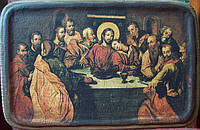 Икона Тайная вечеря,17 век.