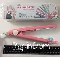 Утюжок для выравнивания волос Pro Mozer MZ-7038 мини