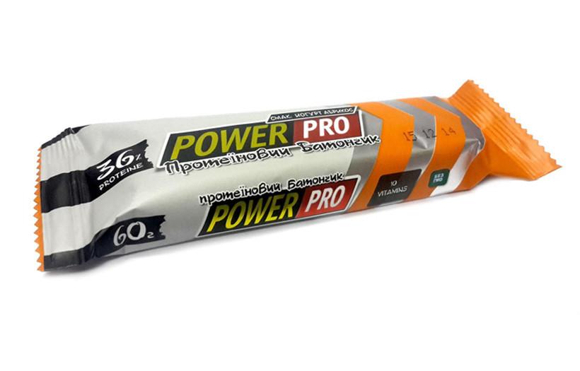 Протеиновый батончик Power Pro Bar 36% 60g. (ВИШНЕВЫЙ ЙОГУРТ)