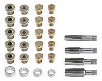 Набір інструментів Neo для відновлення різьби зливної пробки 64 шт.