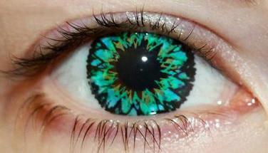"""Линзы цветные для глаз """"Green Star"""" Купить в Украине по самым низким ценам в интернет-магазине."""