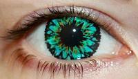"""Линзы цветные для глаз """"Green Star"""" Купить в Украине по самым низким ценам в интернет-магазине., фото 1"""