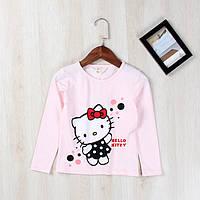 """Детская футболка с длинным рукавом """"Hello Kitty"""" для девочек 140,150"""
