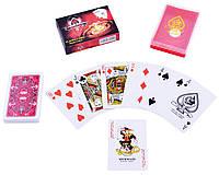 Удобные игральные карты casino  54 шт.