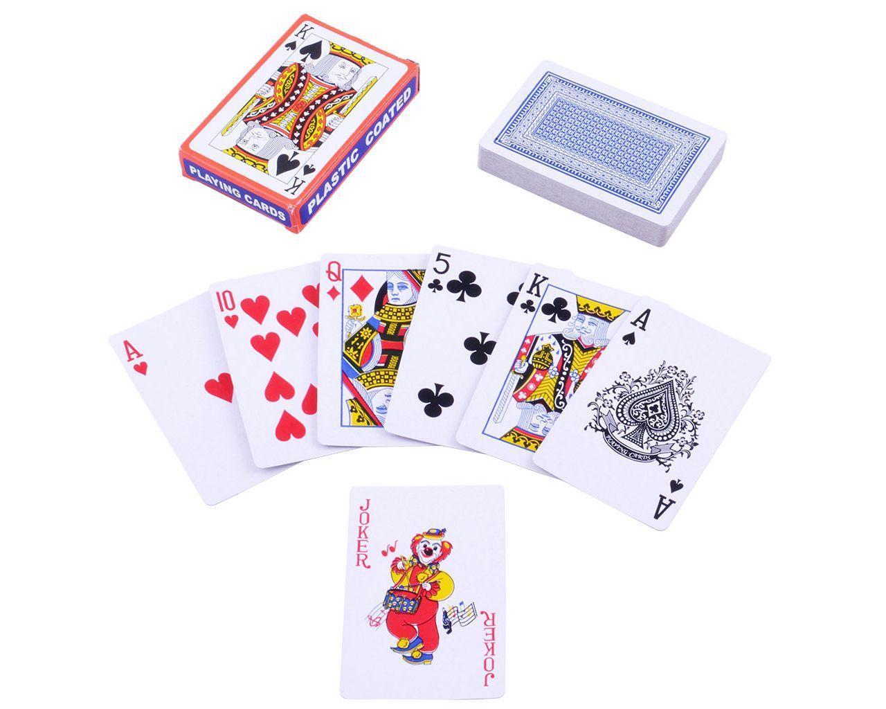 Игральные карты (plastic coated playing cards)