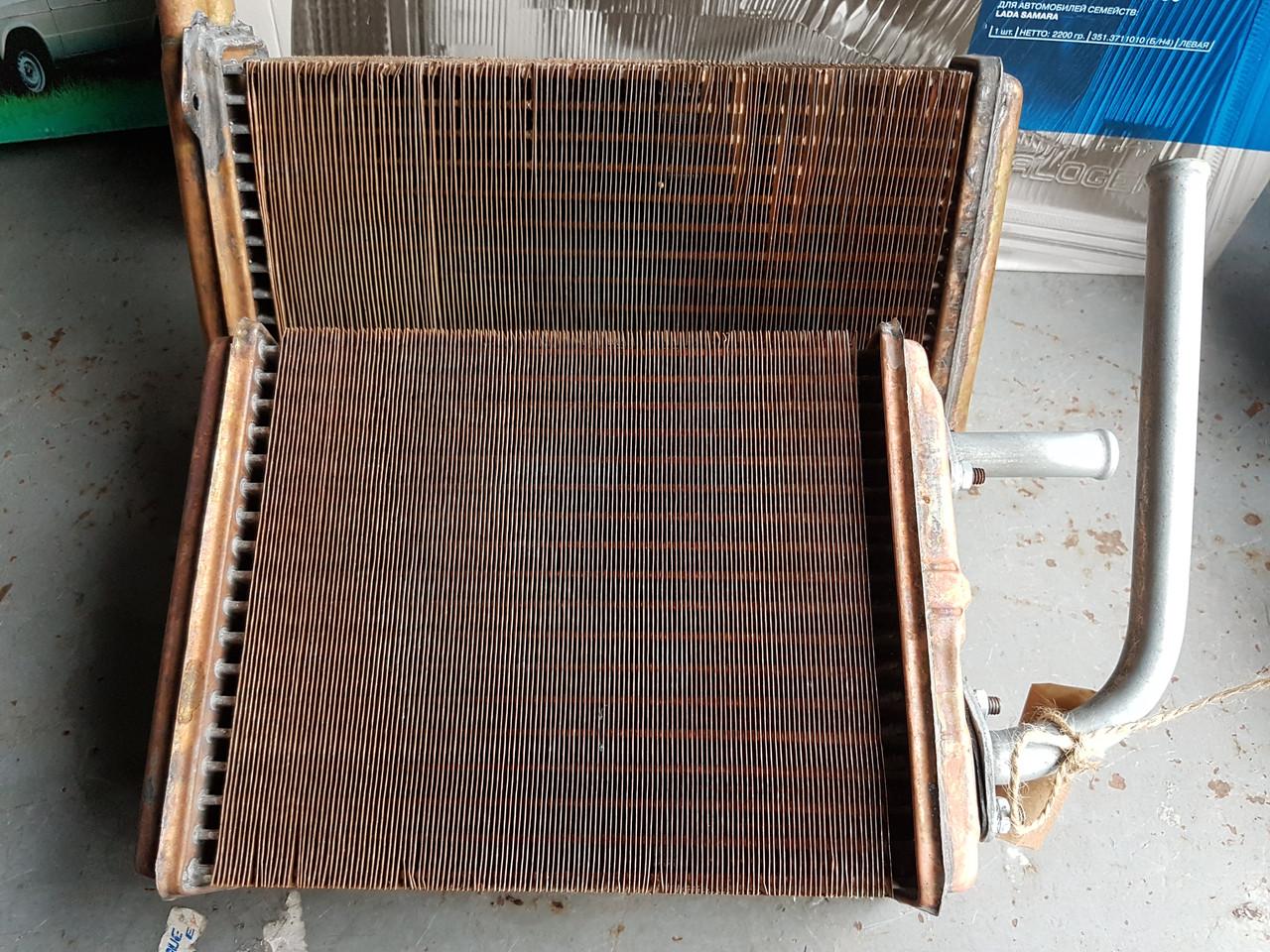 Радиатор печки на ВАЗ 2101-07( латунный) ОРЕНБУРГ