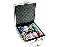 Покерный набор в кейсе на 100 фишек