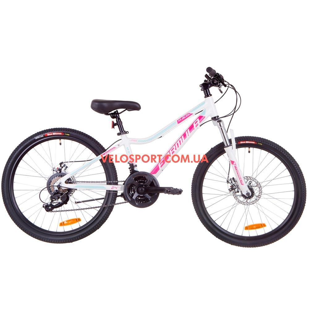 Подростковый велосипед Formula ACID 2.0 DD 24 дюйма бело-малиновый