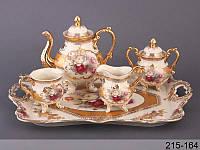 Чайный набор Lefard Букет роз на 10 предметов 215-164