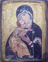 Икона Богородица замилования(Вышгородская) 12 век.