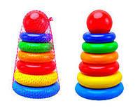 Пирамидка для малышей,24 см,развивающие игрушки для малышей