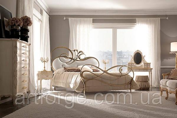 Кованая кровать ИК 986