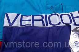 Трусы мужские Vericoh 199 однотонные на спортвной резинке яркие, фото 3