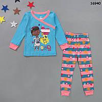 "Пижама ""Доктор Плюшева"" для девочки. 4 года, фото 1"