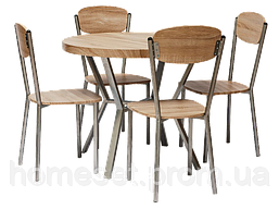 Стол со стульями для гостиной Амаро