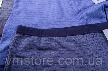 Трусы мужские Vericoh полоса увеличенные тонкая резинка 233В, фото 2