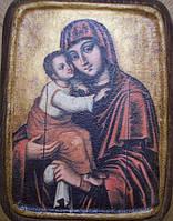 Икона Богородица замилования (Почаевская) 17 век.