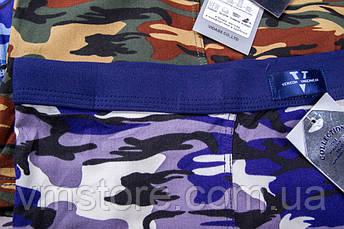 Трусы мужские Vericoh увеличенные камуфляж мягкая резинка 601В, фото 2